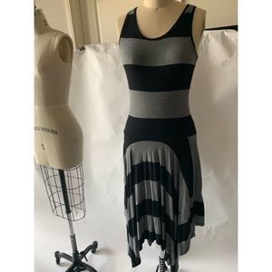 Striped stretchy dress